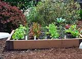 raised bed vegetables woodworking project plans