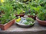 How to Make a Container Herb Garden Design | Herb Garden Design ...