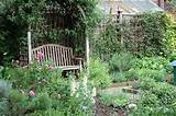 basic herb garden design keep proportion in mind when choosing plants