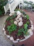 single herb spiral garden