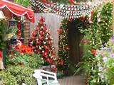 christmas garden decoration ideas christmas lights on small garden