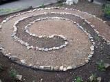 Birthing Spiral Medicinal Garden
