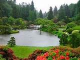 generally japanese gardens portray idealized landscapes in miniature ...