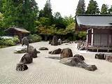 karesansui japanese rock gardens that are called zen gardens often ...