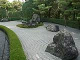 landscape design background zen garden kyushu japan e chan ...