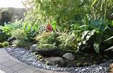 zen garden rocks feature