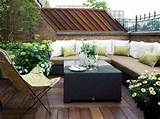 backyard patio green natural terrace garden design idea picture