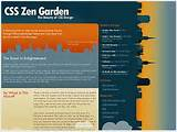 Here i've selected 20 of the cool css zen garden designs, Hope ...