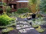 Description: This modern Zen garden consists of an eclectic ...