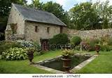 Peaceful French Country Garden Stock Photo 17774872 : Shutterstock