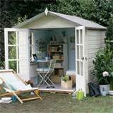 Modern Country Style: Garden Shed Envy
