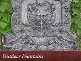 DECOR FOUNTAIN GARDEN OUTDOOR WALL - Wall Decor