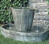 Garden Fountains - Unique Garden Fountains, Indoor, Wall and Outdoor ...