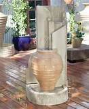 Stock # HOM20091362 : Elegant Garden Fountains for Outdoor Home Decor.