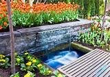 ... Decor Ideas beautiful outdoor garden and waterfall decor