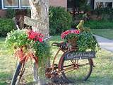 Old Bicycle Garden Decor « Briarpatchprim's Weblog