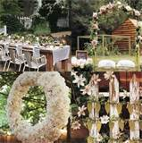 Sign of the Times: Garden Wedding Backyard Wedding Outdoor Wedding ...