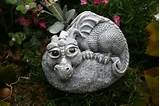 baby dragon statue devious devlin garden decor outdoor art
