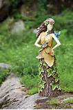 garden yard outdoor lawn statue fairy sprite decor home patio unique