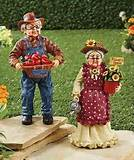 grandpa grandma garden statues outdoor yard lawn decor ebay