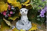 meerkat statue yard animals outdoor garden decor by phenomegnome
