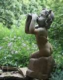pan garden fountain statue by henri studio shop gardecor now