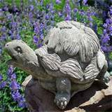 statue concrete big outdoor garden turtle vintage decor ebay