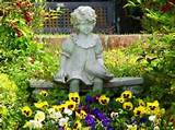 outdoor garden statues