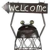 garden decor welcome frog outdoor clearance great gifts at deals