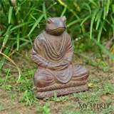 ash meditating frog 8 antique garden decor my spirit garden