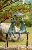 frog lovers garden outdoor sculpture art