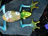 frog for deck fence garden indoor outdoor decor ornament wall decor