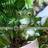 home decor birthday present ceramic frog syringe garden stakes