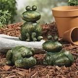 new 3 stone look frogs garden patio deck yard outdoor decor ebay