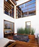 unique natural indoor garden design ideas in wooden house in malibu