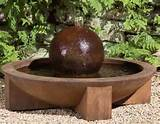 low zen sphere fountain return to unique garden decor homepage