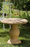 the balustrade accent table return to unique garden decor homepage