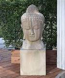 the buddha head statue return to unique garden decor homepage