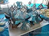 such a cute idea outdoor decor included blue zebra themed diaper