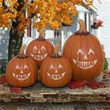 personalized pumpkins are the perfect addition for your front porch