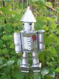 tin can man wizard of oz yard art decor garden decoration unique cute