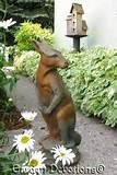 unique 21 kangaroo garden statue outdoor yard decor ebay