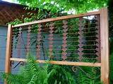 Garden Decor Garden Screen Trellis Garden Art by MiscKDesigns