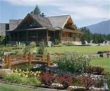 log home landscaping ideas interior and exterior design