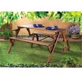 cheap rustic convertible garden table wholesale