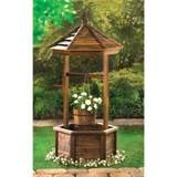 cheap rustic wishing well planter wholesale