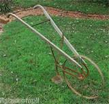 Vintage Rustic Hand Plow Cultivator Garden Decor Hungerford USA | eBay