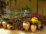 rustic wheel barrow > 4ft x 5ft > price $NA
