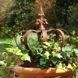 rustic garden decor