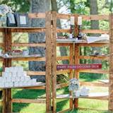 ... summer reception location type rustic barn garden outdoor featured